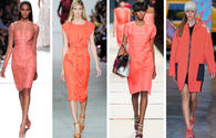 Living coral: Trendy color of the year