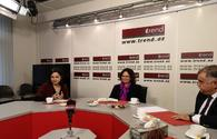 Deputy chief of Israel's diplomatic mission in Baku visits Trend News Agency