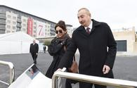 "Azerbaijani president, First Lady familiarize with projects in White City <span class=""color_red"">[PHOTO]</span>"