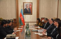 Azerbaijani FM receives newly appointed Brazilian ambassador