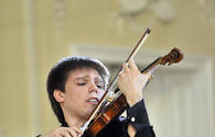 "Russian violinist delights music lovers <span class=""color_red"">[PHOTO]</span>"