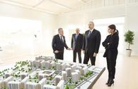 "Azerbaijani president with First Lady attend opening of Yasamal residential complex <span class=""color_red"">[UPDATE]</span>"