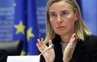 Mogherini: Europe still adheres to agreement with Iran