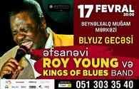 Roy Young and King of Blues Band to perform in Baku