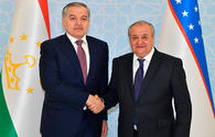 Uzbek, Tajik FMs discuss joint activities