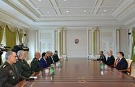 "Ilham Aliyev receives delegation led by Chief of General Staff of Iran's Armed Forces <span class=""color_red"">[UPDATE]</span>"