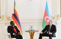 "Azerbaijani, Zimbabwean presidents meet <span class=""color_red"">[PHOTO]</span>"