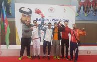 "Azerbaijani fencer grabs silver at Bahrain Youth World Cup <span class=""color_red"">[PHOTO]</span>"