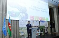 Baku hosts event dedicated to FAO-Azerbaijan Partnership Program