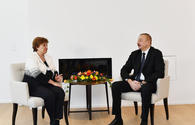 "President Aliyev meets CEO for World Bank in Davos <span class=""color_red"">[UPDATE]</span>"