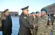 "Azerbaijani peacekeepers leave for Afghanistan <span class=""color_red"">[PHOTO]</span>"