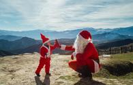 "Santa visits remote villages <span class=""color_red"">[PHOTO]</span>"