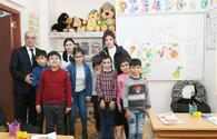 "First VP Mehriban Aliyeva visits special school in Baku <span class=""color_red"">[PHOTO]</span>"