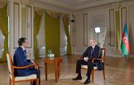 Azerbaijani president interviewed by Real TV