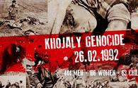 Khojaly genocide. Bleeding wound of Azerbaijani people