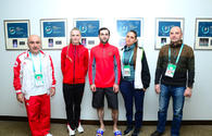 "Reps of Georgian Embassy in Azerbaijan meet gymnasts at Trampoline & Tumbling World Cup <span class=""color_red"">[PHOTO]</span>"