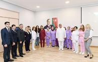 "VP of Heydar Aliyev Foundation Leyla Aliyeva attends opening of newly renovated psycho-neurological social service center in Buzovna <span class=""color_red"">[PHOTO]</span>"