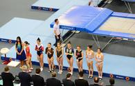 "Second day of Trampoline and Tumbling World Cup kicks off in Baku <span class=""color_red"">[PHOTO]</span>"