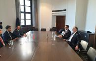 Azerbaijani FM meets with Deputy PM of Croatia