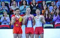 "Winners of individual trampoline program as part of World Cup awarded in Baku <span class=""color_red"">[PHOTO]</span>"
