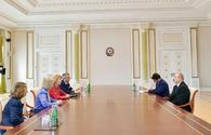 """President Aliyev receives UK PM's trade envoy <span class=""""color_red"""">[UPDATE]</span>"""