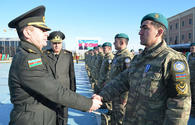 "Azerbaijani peacekeepers back from Afghanistan <span class=""color_red"">[PHOTO]</span>"
