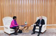 "President Ilham Aliyev meets World Bank Regional Director for S.Caucasus <span class=""color_red"">[PHOTO]</span>"