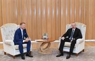 "Ilham Aliyev meets EIB vice-president <span class=""color_red"">[UPDATE]</span>"