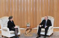 "Ilham Aliyev meets US deputy assistant secretary of state for energy diplomacy <span class=""color_red"">[PHOTO]</span>"