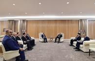 "President Aliyev meets Turkish minister of energy and natural resources <span class=""color_red"">[PHOTO]</span>"