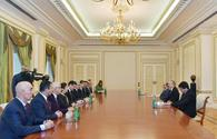 "Ilham Aliyev receives delegation led by head of Turkey-Azerbaijan inter-parliamentary friendship group <span class=""color_red"">[PHOTO]</span>"