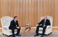 "President Aliyev meets Italian deputy minister for economic development <span class=""color_red"">[UPDATE]</span>"