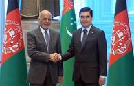 Turkmen, Afghan leaders hold talks in Ashgabat