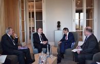 """Azerbaijani FM meets with President of ICRC <span class=""""color_red"""">[PHOTO]</span>"""