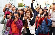 Tourist influx from China, Japan up