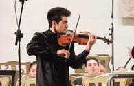 Azerbaijan's talented violinist to delight his fans