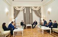 "Azerbaijani president receives Italian delegation <span class=""color_red"">[UPDATE]</span>"