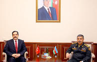 New military attache of Turkey introduced to Azerbaijani Minister of Defense