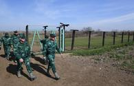 Azerbaijani border guards prevent attempted violation of state border