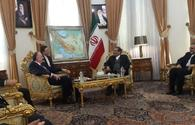 Azerbaijani FM meets with Secretary of Supreme National Security Council of Iran