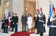 """Azerbaijan's First VP, French PM Édouard Philippe hold one-on-one meeting <span class=""""color_red"""">[UPDATE]</span>"""