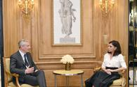 """First VP of Azerbaijan meets French Minister of Economy and Finance <span class=""""color_red"""">[UPDATE]</span>"""