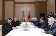President Ilham Aliyev meets Albanian counterpart
