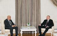 "President Ilham Aliyev receives ISESCO director general <span class=""color_red"">[UPDATE]</span>"