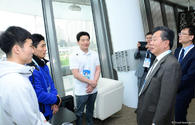 "Ambassador of S.Korea to Azerbaijan meets athletes at FIG World Cup <span class=""color_red"">[PHOTO]</span>"