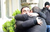 "Joy and tears of happiness of people pardoned upon Azerbaijani presidential decree <span class=""color_red"">[PHOTO]</span>"