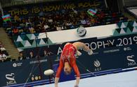 Winners of FIG Artistic Gymnastics World Cup in floor exercises named