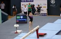Winners of FIG Artistic Gymnastics World Cup in balance beam exercises named