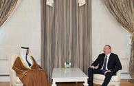 "President Aliyev receives UAE minister of energy and industry <span class=""color_red"">[UPDATE]</span>"