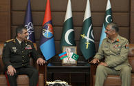 "Azerbaijan Defense Minister meets with the commander of the Land Forces of Pakistan <span class=""color_red"">[PHOTO]</span>"
